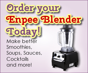 Enpee Blender Order Today // Blog Pages