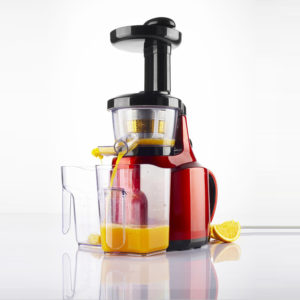 Enpee Slow Masticating Juicer - Red