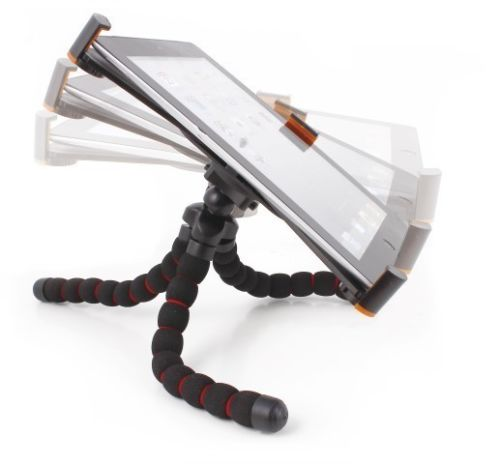 Flexible Universal Tablet Tripod Adjustable Stand Bendable Legs Any Surface