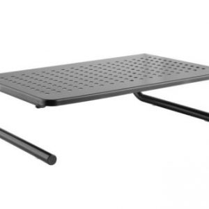 Universal Metal Perforated Monitor Screen Display Riser Mount Laptop Stand