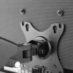 Single LCD Monitor Gas Counterbalance Arm Desk Mount 13-27 Tilt Swivel w / USB