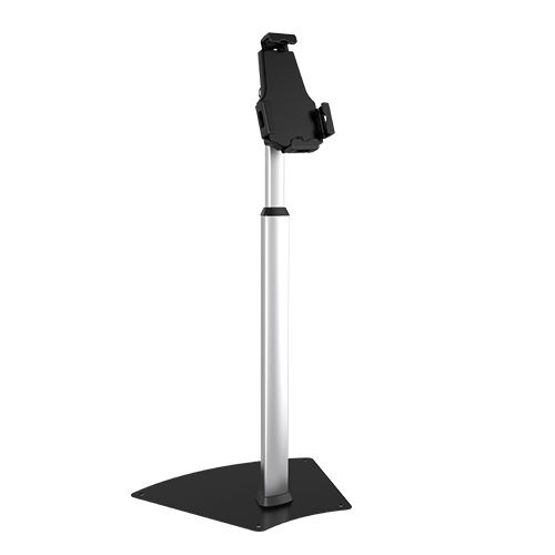 Universal Anti-Theft Height Adjustable Free Standing iPad Tablet Display Stand