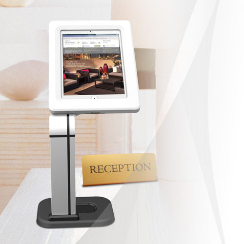 Anti-theft Countertop Stand for Ipad 1 2 3 4 Air 1 2 Pro Galaxy with Key Lock
